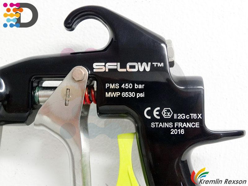 SFLOW 450 pistolet lakierniczy wysokociśnieniowy Kremlin - Rexson