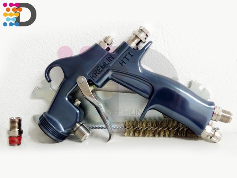 M22P HTI K Kremlin-Rexson HVLP GUN W/O PROJ AIR 1/4 NPS FLUID 3/8 NPS.