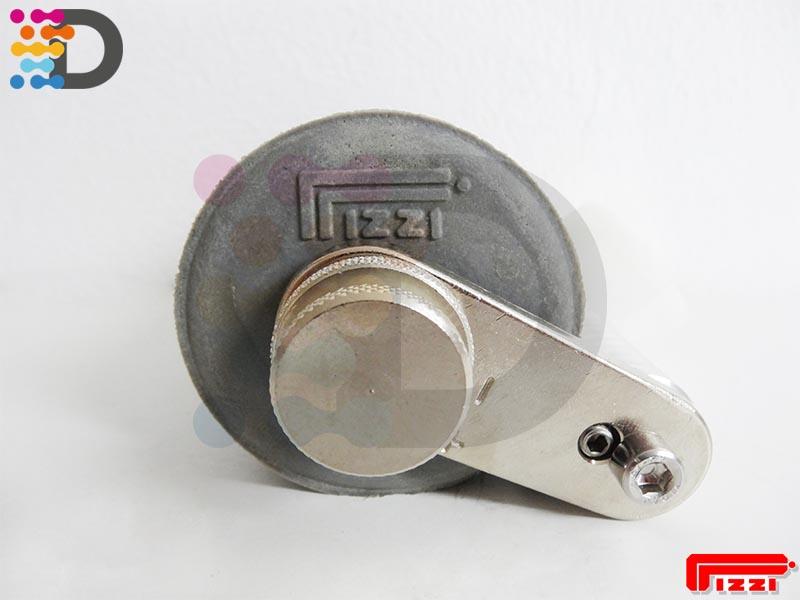 Dysza cylindryczna gumowa 120 mm PIZZI OFFICINE